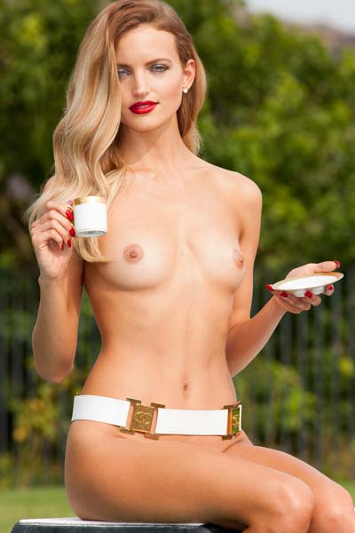 Model Amanda Booth in Playmate Miss February 2014