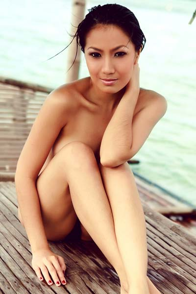 Model Gypsy Sarcon in Playboy Philippines