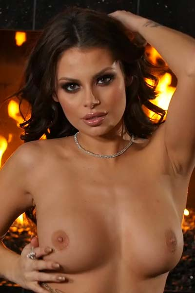 Model Shelly Lee in Flames Of Desire