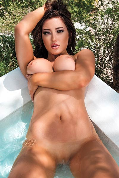 Model Stefanie Knight in Playboy Mexico
