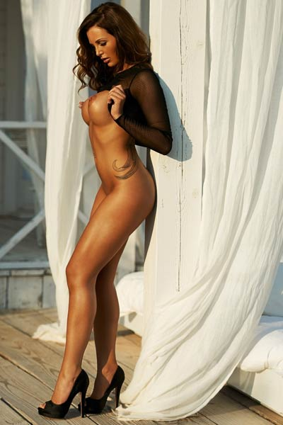 Model Helen De Muro in Playboy Germany