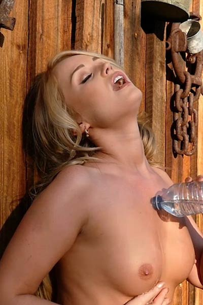 Model Elyse Jean in Hot Country Daze