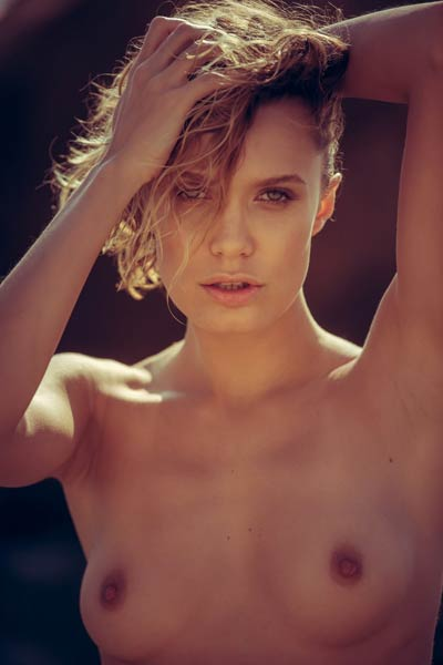 Model Chucha in Shores Sunset