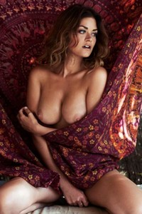 Model Christina Braun in Playboy Germany