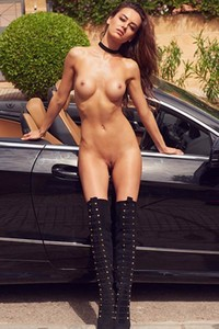 Model Veronika Klimovits in Playboy Germany 2