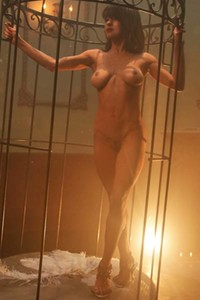 Model Mia Valentine in Caged Angel