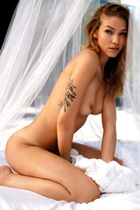 Model Marie Czuczman in Playboy Germany