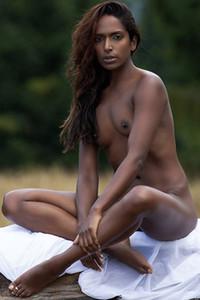Model Nirmala Fernandes in Divine Desires