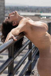 Model Divina in Rooftop View