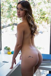Model Alina Lopez in Down to Business