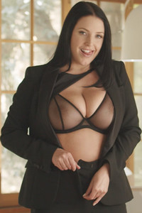 Model Angela White in Professional Confessions