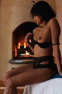 Model Angel Constance in Setting the Mood