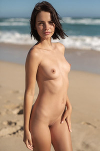 Model Ariel in Private Beach