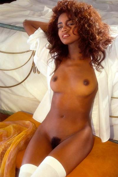 Model Stephanie Adams in